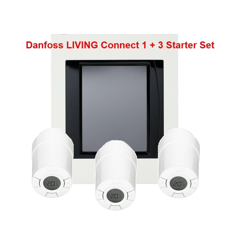 Danfoss Link Basis Paket Unterputz